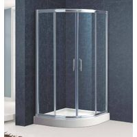 Quadrant Sliding Shower Room with High Shower Tray(Kt6009)