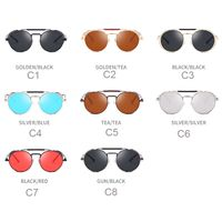 New steampunk sunglasses frog mirror,Model#ZL-FS-01,ready stock now,small MOQ wholesale