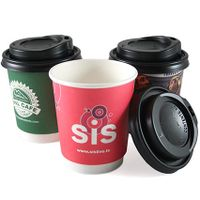 8oz Double Wall Paper Cup for Hot Coffee thumbnail image