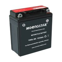 12n5l-BS Ms Rechargeable Motorcycle Battery