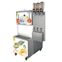 Strong Soft Ice Cream Equipment 1100 cone / hour