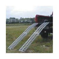 Aluminium ramp for ATV