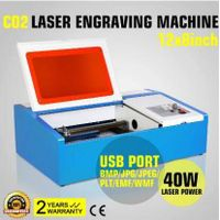 CO2 2030 Laser Engraving Machine with clamp thumbnail image