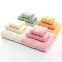 bamboo fiber baby face cloth towel hand towel
