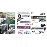 Roll Up Soft Portable Electronic Piano Keyboard 61 keys thumbnail image