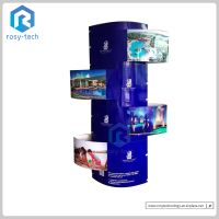 Reliable Cheap Custom Design Advertising Outstanding Cardboard Totem Display Stand, Lama Display thumbnail image