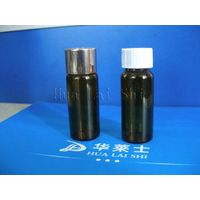 amber  pharmaceutical injection vial