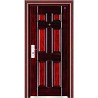 Russia style steel door in stock, price-off promotion