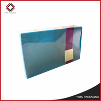 Cheap transparent cosmetic gift box packaging