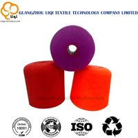 Textile of Polyester sewing thread
