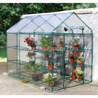 Steel Tube Greenhouse-Larger Walk-in Series-143 X 214 X 195CM