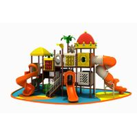 Colorful Kid's Centre Playground Outdoor Slide