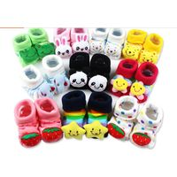 Cotton Cute Animals Solid Baby Socks Winter Warm