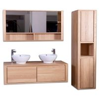 SOLID OAK BATHROOM SET