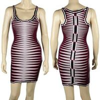 2015 New Arrival Women Sunmmer Bandage Dress Spaghetti Strap Bandage Dress