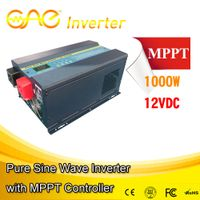 High efficency off grid pure sine wave inverter with MPPT controller
