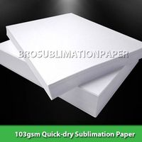 103gsm A4 sublimation transfer paper for mugs