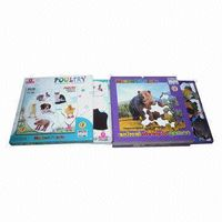 Children's Paper Puzzle Board/Educational Book