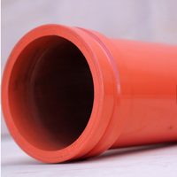High Quality DN125 seamless Manufacturer Wear Resistant 5.5Inch ST52 3M Concrete Pump Delivery Pipe