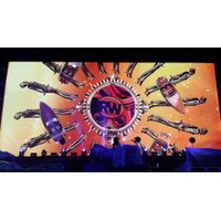 HD video smd indoor P6 concert stage led wall