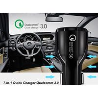 Quick charger3.0 Car Charger Mobile phone car charger USB charger 30W Fast charger dual USB car Adap thumbnail image
