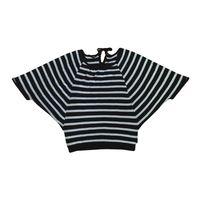 2013 new fanshion T-shirts stripes long sleeve batwing 100% cotton