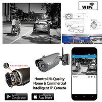 IP67 WiFi Waterproof Outdoor IP Camera Smart Home Bullet WiFi IP Camera 1080P 2 Mega Pixel IP Camera