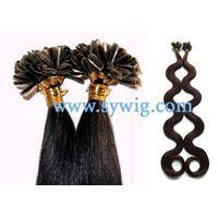 nail hair extension/prebonded hair thumbnail image
