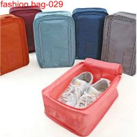 Ripstop nylon High Quality travelling storage Zipper Mesh Shoes Organizer thumbnail image