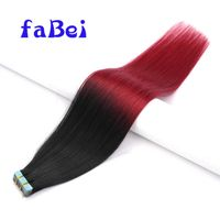 Large Stock Russian Hair Double Drawn Skin Weft 20Inch Tape Human Hair Extensions thumbnail image