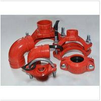 FM/UL/CE/3C Approved Ductile Iron Rigid Coupling