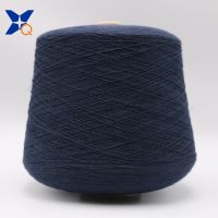 XT11105 dark blue 0.035 micron stainless steel fine wire twist with Ne32/2ply combed cotton yarn