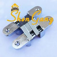 zinc alloy concealed hinges for doors