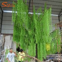 artificial handmade willow tree for garden decoration
