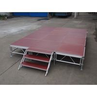 Aluminum stage for sale thumbnail image
