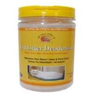 Deodorant from cat sand