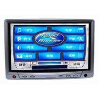 7 inches headrest/desktop car TFT-LCD monitor with touch screen for car PC