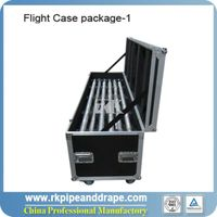 Flight Case for 12pcs uprights and 6pcs cross bars