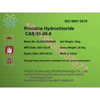 Factory supply high quality Procaine HCL CAS 51-05-8 with cheap price +86 19930507977