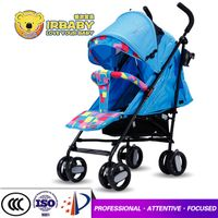 european style baby stroller with full canopy children stroller with five point safety belt