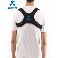 Posture Corrector for adult Under Clothes Clavicle Back Brace Corrective Shoulder Support Strap Forw thumbnail image