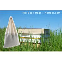 SMELLEZE Reusable Book Smell Removal Deodorizer Pouch: Rids Odor Without Chemicals in 12 Books/Time thumbnail image
