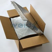 aluminum foil air bubble box liner