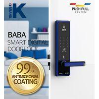 Smart Digital door lock BABA-8200 Swipe Card Password Opening Electronic Automatic Door Lock thumbnail image