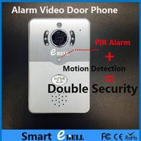 smart doorbell with motion detection and wifi doorbell ip camera
