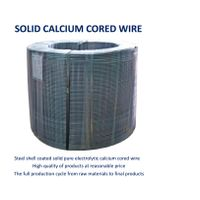 Solid Calcium Cored Wire