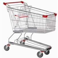 unfolding supermarket shopping trolley thumbnail image