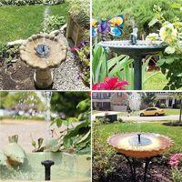 Solar fountain outdoor pool floating fountain bird bathtub fountain garden fountain courtyard kit thumbnail image