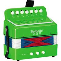 children's cheap and colorful musical toy accordion for sale