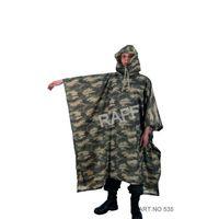 Military Camouflage Raincoat / Imperméable Militage Camouflage